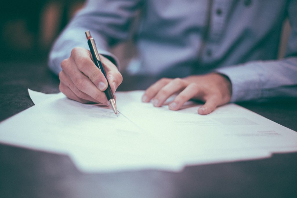 Actas constitutivas de empresas nuevas
